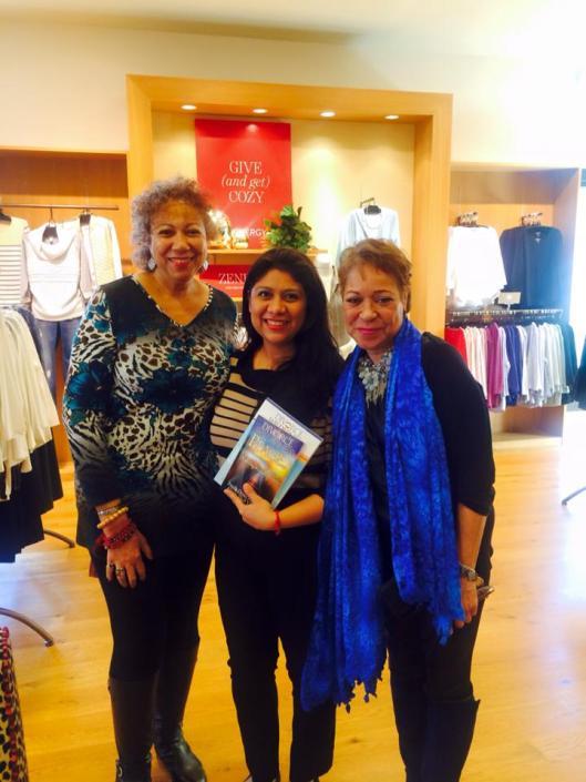 Book signing Hilda 3 shot